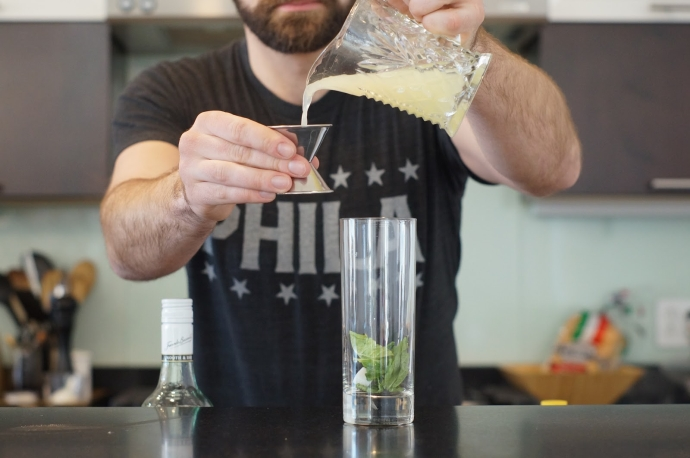 Home Bar Project: How to Make a Queen's Park Swizzle