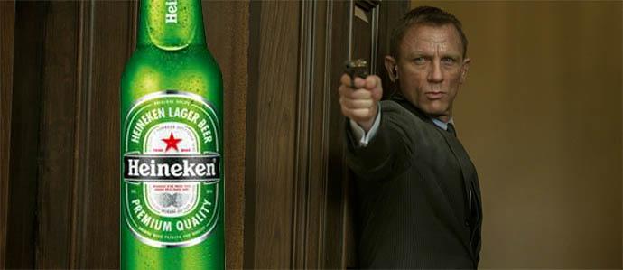 James Bond Swaps Martinis for Heinekens - POLL