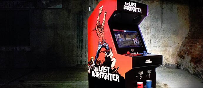 Last Barfighter Beercade Game Dispenses Beer When You Win