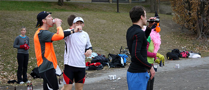 Suds Run: Should You Drink Beer After a Race?