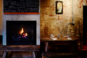 Wine Bar | 6 Fireplaces in Brooklyn to Keep You Warm and Fuzzy