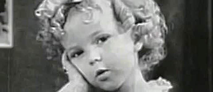 Farewell Shirley Temple, and Thank You