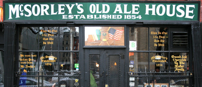 New York's Best Pubs For Celebrating Saint Patrick's Day