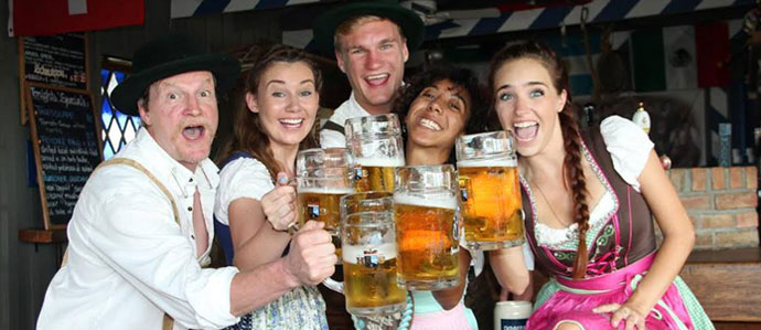 Get Out Your Lederhosen: German Bars and Beer Halls Celebrate Oktoberfest in NYC