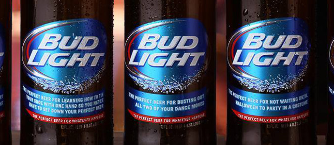 Bud Light Drinkers Must Really Be 'Up for Whatever' to Grab One of These Bottles