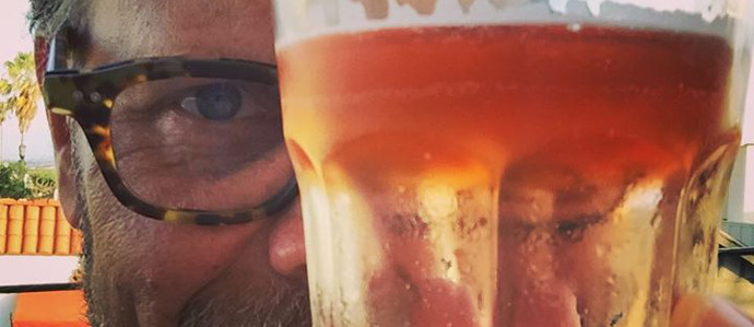 Alton Brown's New Go-To Drink May Surprise You