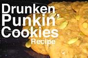 Drunken Punkin Cookies