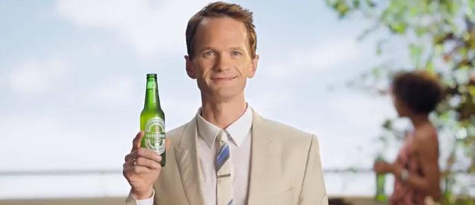 Neil Patrick Harris Is New Spokesperson for Heineken Light in Money Back Guarantee Campaign