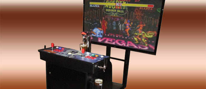 Dream Gaming: All-in-One Vintage Arcade and Kegerator