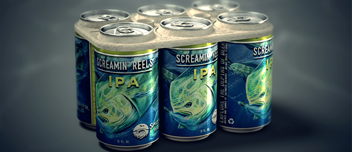 Are Environmentally Friendly Six-Pack Rings The Future of Beer Drinking?