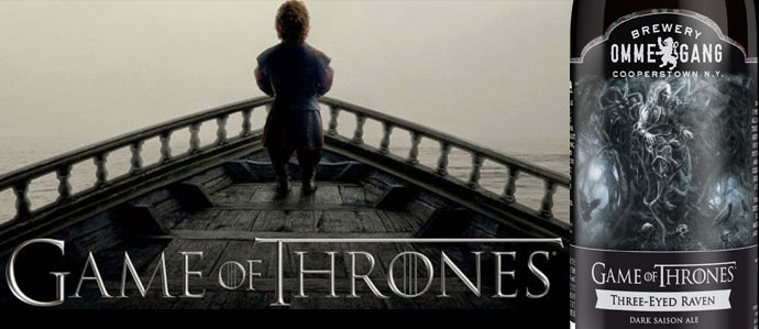 Ommegang to Release Next Game of Thrones Beer, Three Eyed Raven, for Season Five Premiere