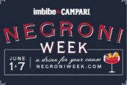 Raise a Glass to a Good Cause During Negroni Week 2015, June 1-7
