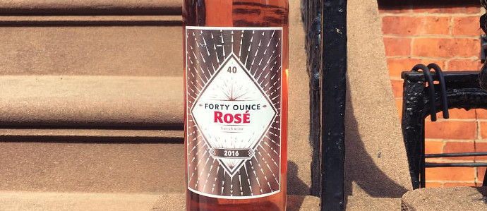 This Summer, You Can Drink Your Rose Out Of a Forty