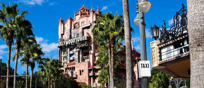 Disney's Tower of Terror Is Getting a Bar