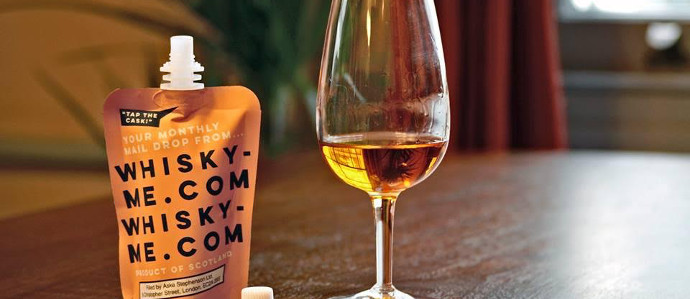 You Can Now Get Whisky in Pouches