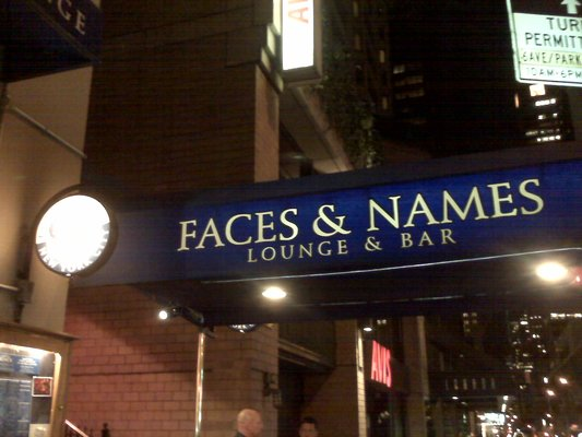 Faces and Names