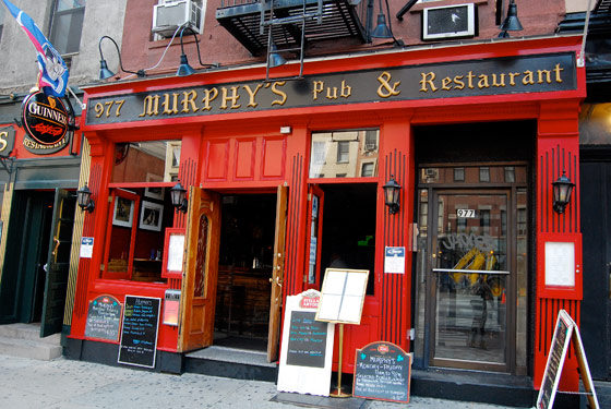 Murphy's Pub - Drink NYC - The Best Happy Hours, Drinks ...