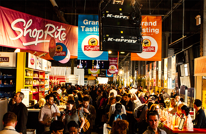 The best new york city food and wine festival events under for Food bar new york city